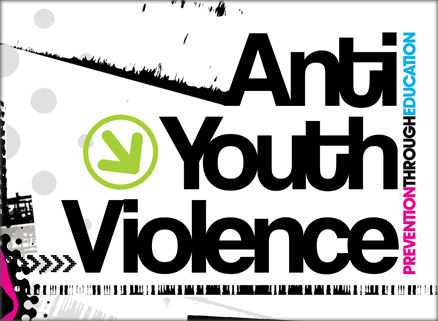 Anti Youth Violence Graphic
