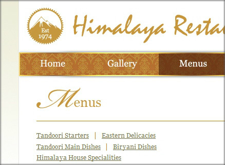 Himalaya Restaurant Graphic